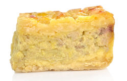Banana pie Royalty Free Stock Image
