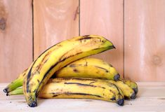 Banana plantain Stock Photo