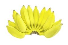 banana pojedynczy białe tło Fotografia Royalty Free