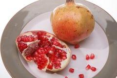 Banana pomegranate Royalty Free Stock Photography