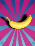 Banana POP! Immagine Stock