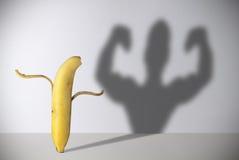 Banana power Royalty Free Stock Image