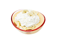 Banana pudding Stock Photography