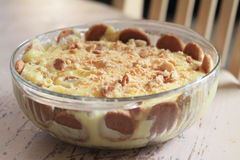 Banana pudding Royalty Free Stock Image