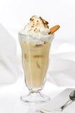 Banana Pudding with Meringue Royalty Free Stock Photos