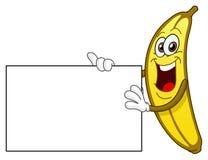 Banana que prende um sinal