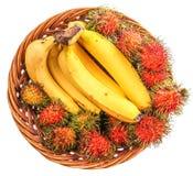 Banana and Rambutan II Stock Image