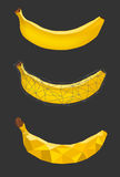 3 banana Royalty Free Stock Photography