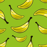 Banana Repeat Pattern Royalty Free Stock Images