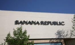 Banana Republic Apparel Store Stock Images