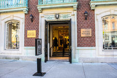Banana Republic, Boston, MA. Royalty Free Stock Images