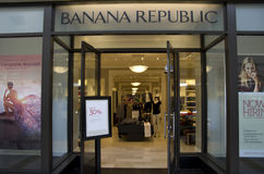 Banana Republic Fashion store Stock Photos