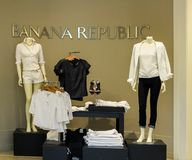 Banana Republic store Royalty Free Stock Images