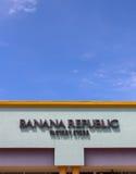 Banana Repulic Store Exterior Stock Photography