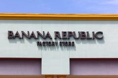 Banana Repulic Store Exterior Stock Image