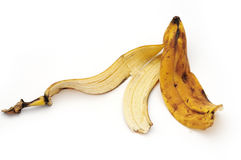 Banana rind Stock Photo