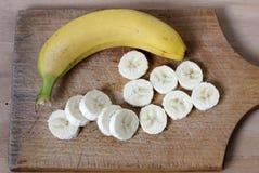 Banana. Rings bananas and whole banana Stock Images
