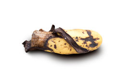 Banana ripe peel Stock Photography