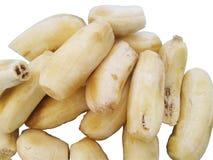 Banana ripe peeled Stock Image