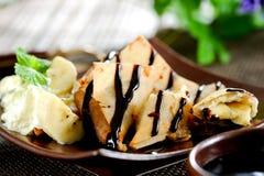 Banana Samosa Fotos de Stock Royalty Free
