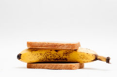 Banana sandwich Stock Images