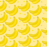 Banana seamless pattern. endless background, texture. Fruits backdrop Vector illustration. vector illustration