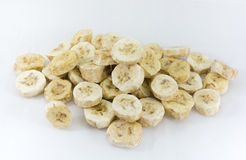 Banana seca do gelo Imagem de Stock
