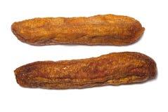 Banana secca Fotografie Stock Libere da Diritti