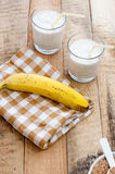 Banana shake Stock Photos