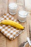 Banana shake Stock Photos