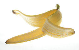 Banana shell Stock Photo