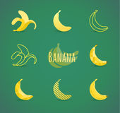 Banana sign Royalty Free Stock Photography
