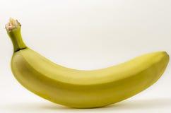 Banana. One banana isolated on white background Stock Photo