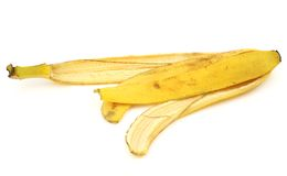 Banana skin Stock Photos