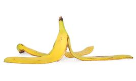 Banana skin Royalty Free Stock Photo