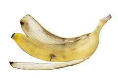 Banana skin Royalty Free Stock Images
