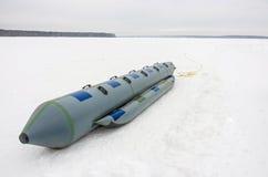 Banana sled boat Royalty Free Stock Photography