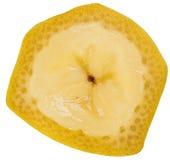 Banana slice Royalty Free Stock Photo
