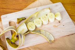 Banana slice Stock Image