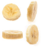 Banana slices Royalty Free Stock Image