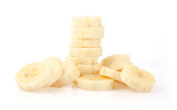 Banana Slices Stock Image