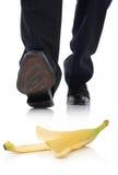 Banana slip Royalty Free Stock Photo