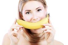 Banana smile Royalty Free Stock Photography