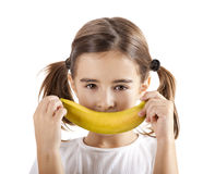 Banana smile Royalty Free Stock Image