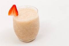 Banana smoothie Royalty Free Stock Photography