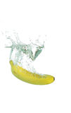 Banana Splash Royalty Free Stock Photo