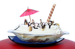 Banana split Photo stock