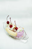Banana Split Ice Cream Stock Photos