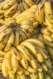 Banana on stall Royalty Free Stock Image