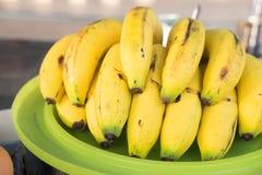 Banana sulla vendita fotografia stock